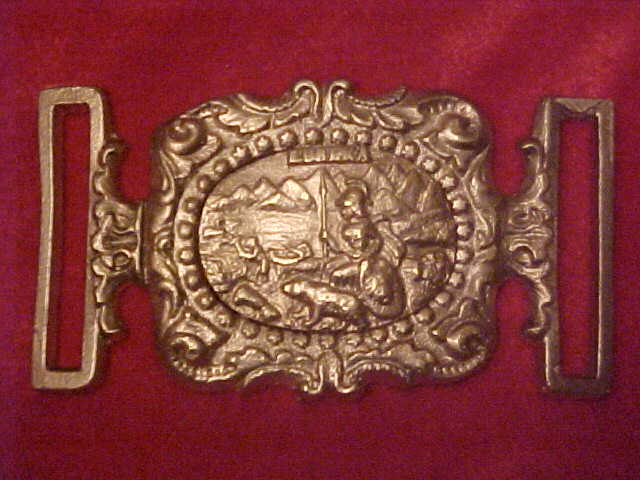 California Belt Plate