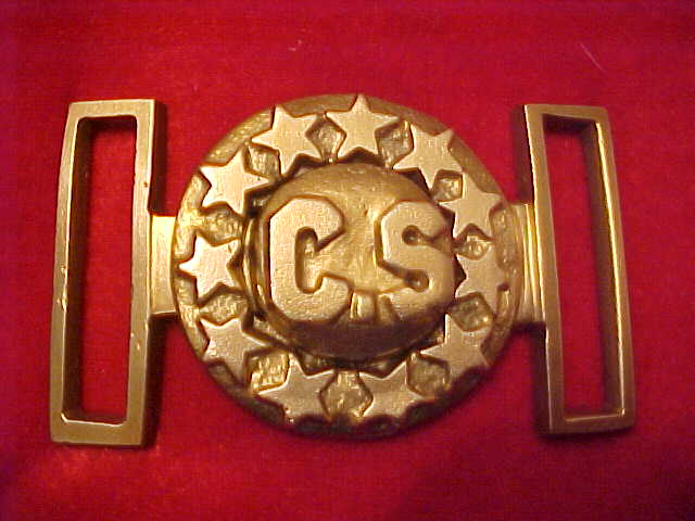 CS buckle with stars