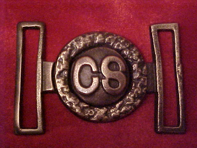 Leech and Rigdon C.S. buckle